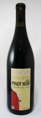 Hanson Vineyards Pinot Noir Willamette Valley 2014