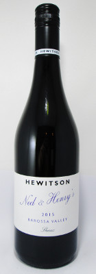 "Hewitson Barossa Valley Shiraz ""Ned & Henry's"" 2015 MAIN"