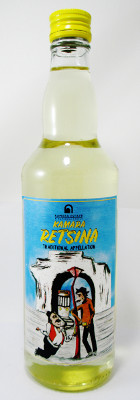 "Kamara Estate Retsina ""Traditional Appellation"" - 500 ml MAIN"