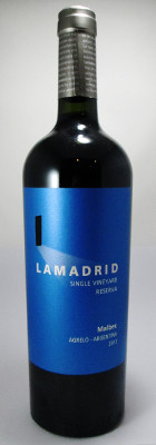 Bodegas Lamadrid Malbec Single Vineyard Reserve 2013