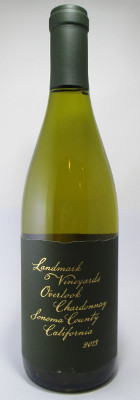 Landmark Vineyards Chardonnay Overlook Vineyard Sonoma County 2014