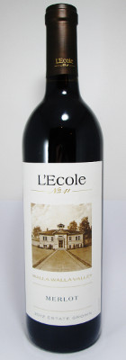 L'Ecole No. 41 Merlot Estate Grown Walla Valley 2014