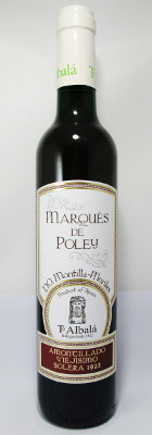 "Toro Albala Marques de Poley Amontillado Viejisimo ""Solera 1922"" NV - 500 ml THUMBNAIL"