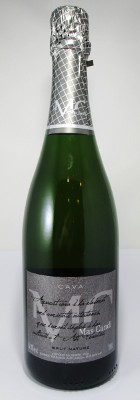 Image result for Mas Candi Cava Brut Nature NV