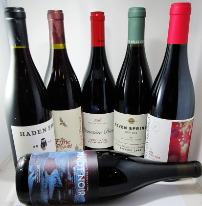 The Six Pack Oregon Pinot Sampler