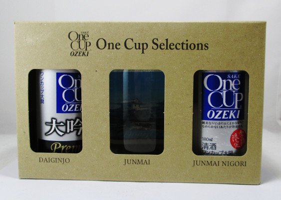 Ozeki One Cup Selections Sake Set