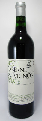 Ridge Cabernet Sauvignon Estate 2014