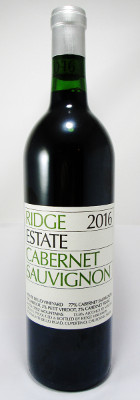 Ridge Cabernet Sauvignon Estate 2016_MAIN