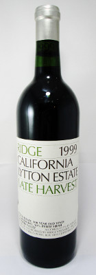 Ridge Lytton Estate Late Harvest 1999 THUMBNAIL
