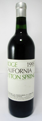 Ridge Lytton Springs 1995