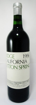 Ridge Lytton Springs 1996 MAIN