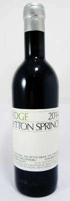 Ridge Lytton Springs 2014 - 375 ml THUMBNAIL