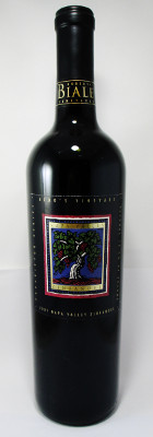 Robert Biale Vineyards Aldo's Vineyard Zinfandel 2001 MAIN
