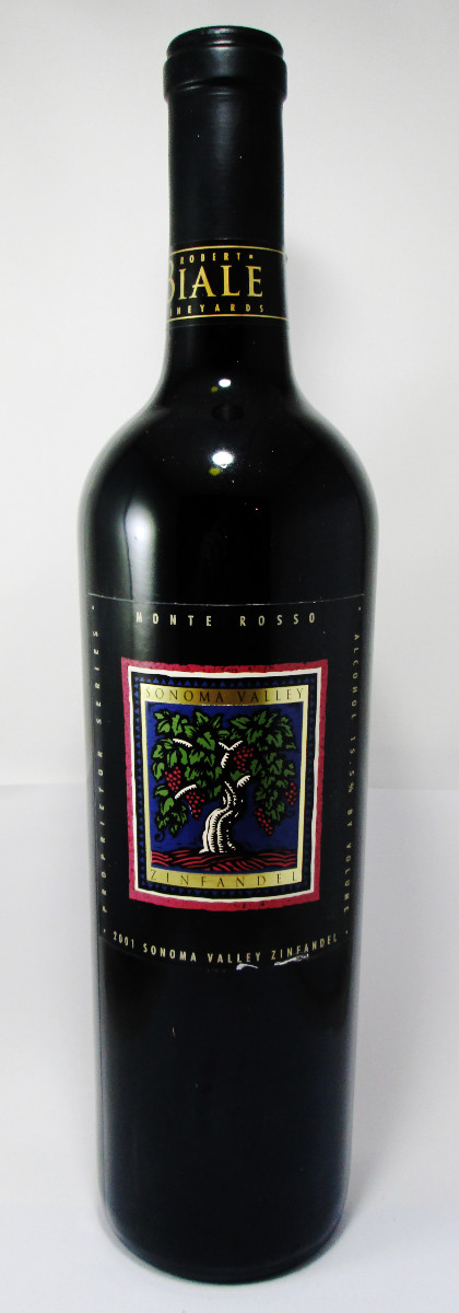 Robert Biale Vineyards Monte Rosso Zinfandel 2001