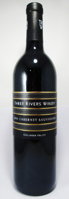 Three Rivers Winery Cabernet Sauvignon Columbia Valley 2015