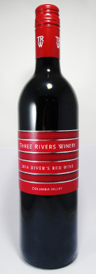 "Three Rivers Winery ""River's Red Wine"" 2014"
