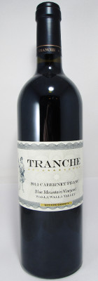 Tranche Cellars Cabernet Franc Blue Mountain Vineyard 2011