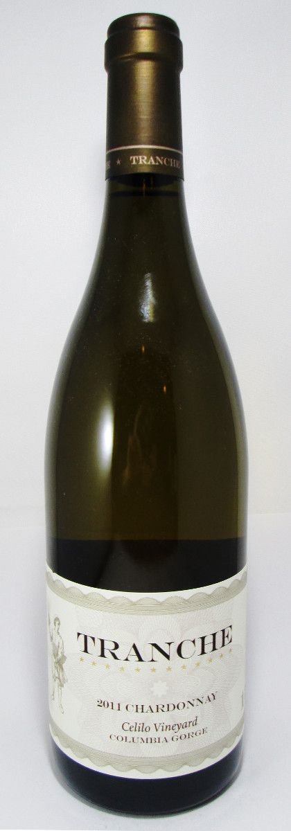 Tranche Cellars Chardonnay Celilo Vineyard 2011