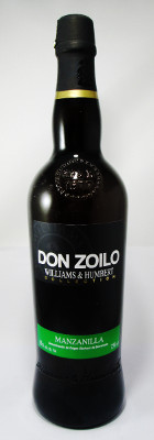 Williams & Humbert Manzanilla Don Zoilo Sherry_MAIN