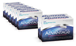 6 MICRONIZED ADVANTAGE®  plus 2 FREE (8) - Lot #PI606