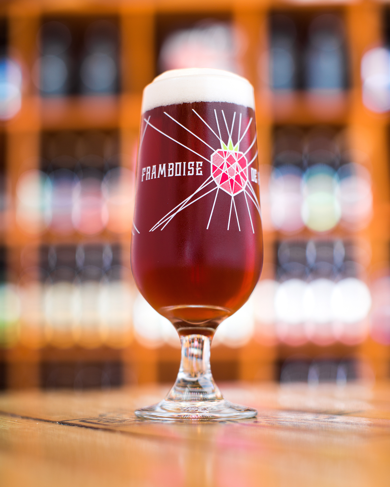 Limited Edition Framboise de Amorosa Embassy Glass