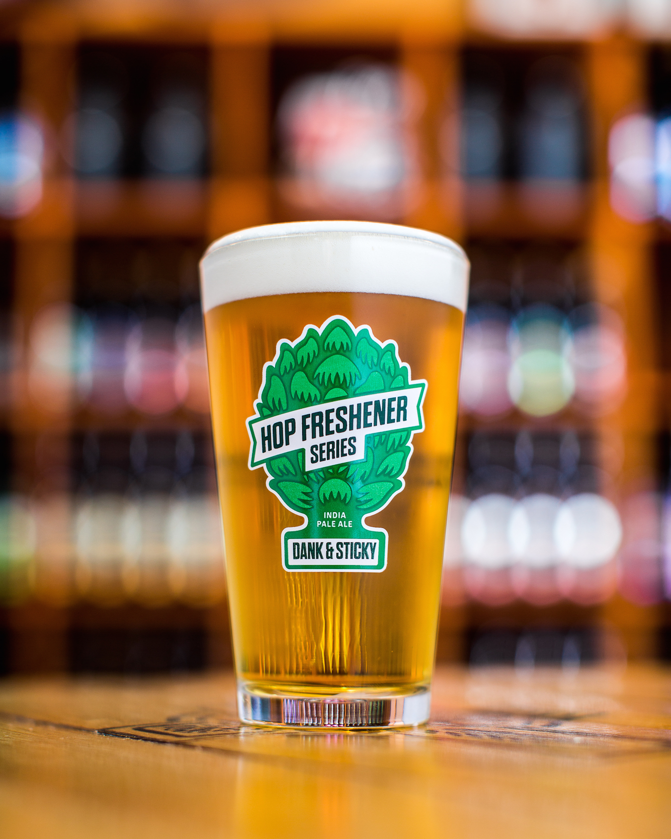 Set of The Hop Concept Hop Freshener 16oz Pint Glasses Mini-Thumbnail