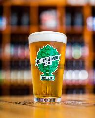 The Hop Concept Hop Freshener Series Dank & Sticky Pint Glass