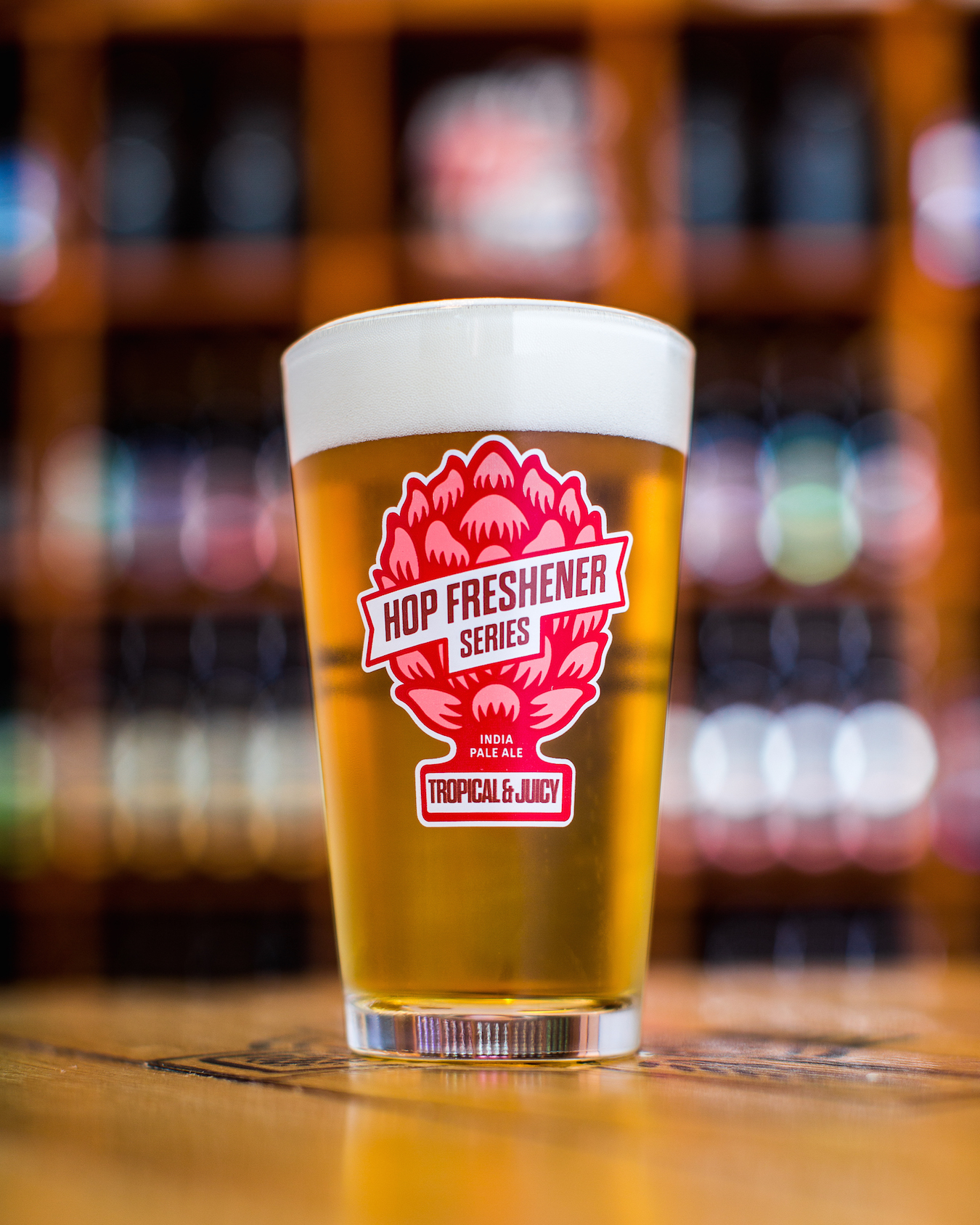 The Hop Concept Hop Freshener Series Tropical & Juicy Pint Glass