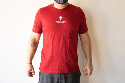The Lost Abbey Sinners & Saints T-Shirt - Red THUMBNAIL
