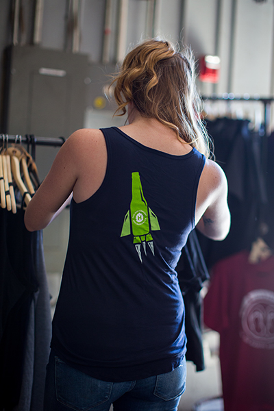 SALE: The Hop Concept Galaxy & Comet Tank_SWATCH