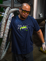 SALE: The Hop Concept Galaxy and Comet T-Shirt SWATCH