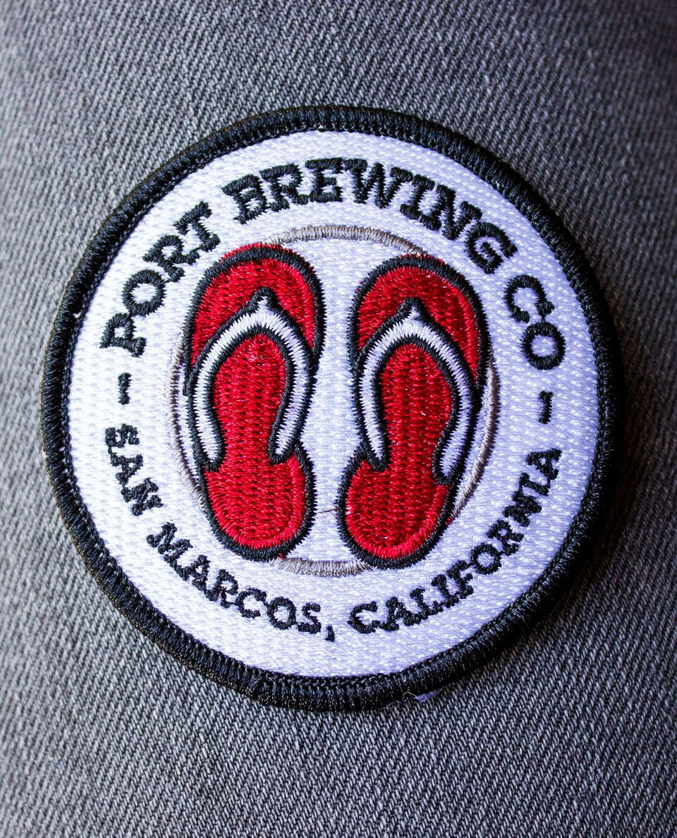 Port Brewing Iron-on Patch_MAIN