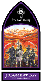 Lost Abbey Judgment Day label sticker