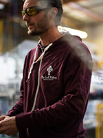 The Lost Abbey Sinners & Saints Zip-Up - Maroon