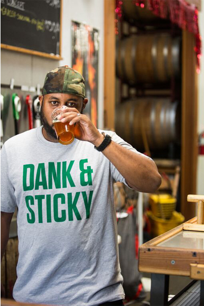 The Hop Concept Dank & Sticky T-Shirt_MAIN