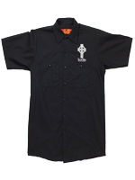The Lost Abbey Men's Work Shirt - Black