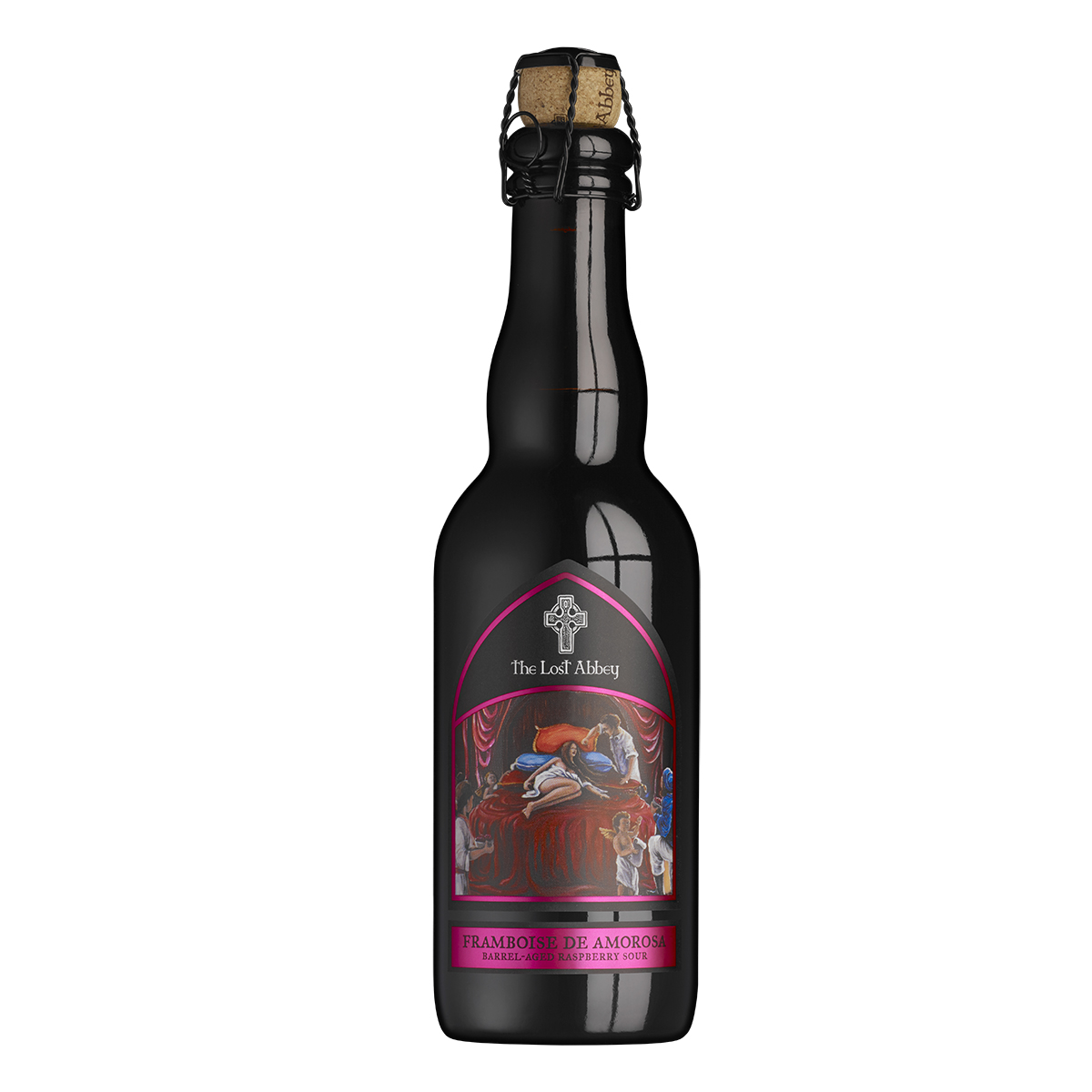 2017 Framboise De Amorosa - 375ml Bottle THUMBNAIL