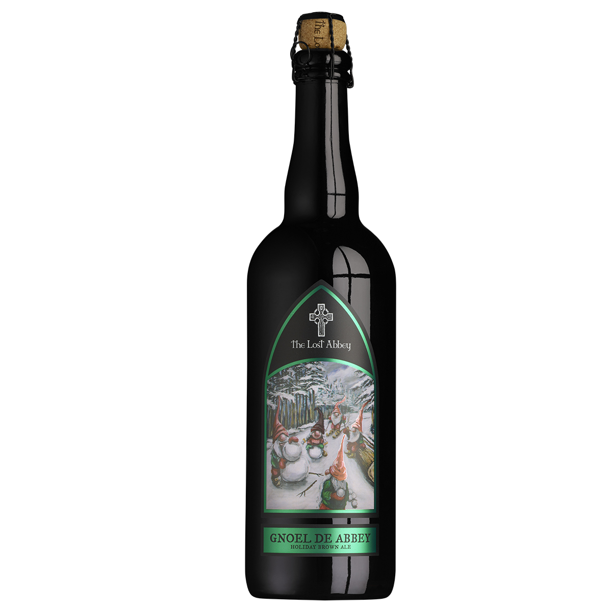Gnoel de Abbey Ale - 750ml THUMBNAIL