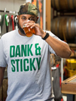 The Hop Concept Dank & Sticky T-Shirt_SWATCH