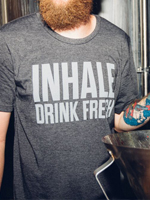 The Hop Concept Inhale Charcoal T-Shirt Mini-Thumbnail