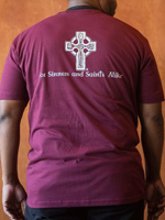 The Lost Abbey Sinners & Saints T-Shirt - Maroon Mini-Thumbnail