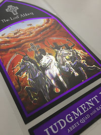 Lost Abbey Judgment Day label sticker Mini-Thumbnail