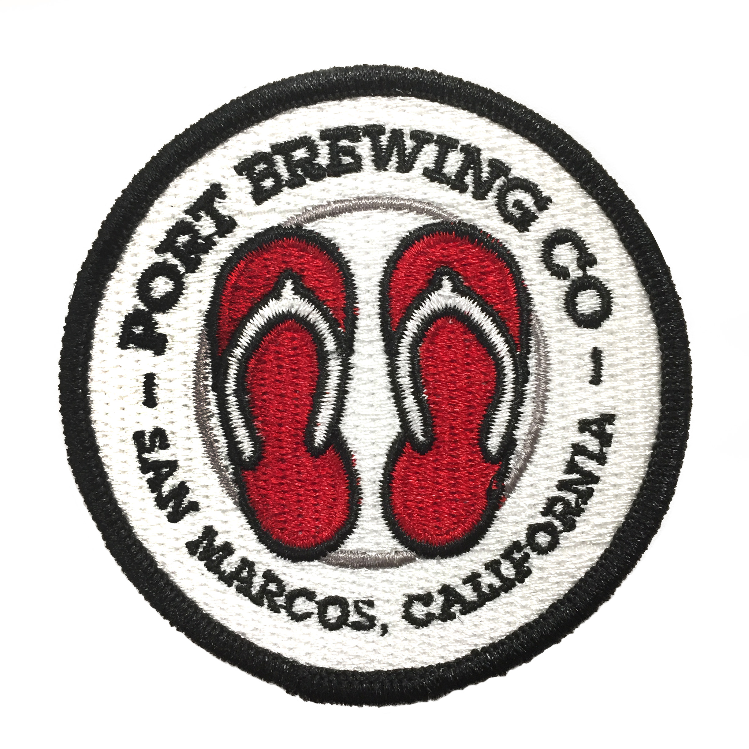Port Brewing Iron-on Patch