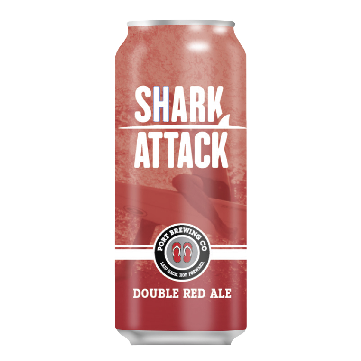 Shark Attack Double Red Ale - Four- Pack MAIN