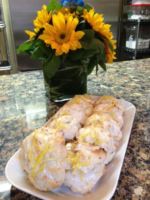 Fresh Gourmet Cookies Limoncello Lavender and Southern Bell Dark Roast Coffee