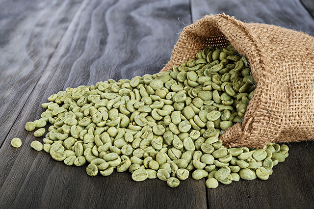 Green Coffee Beans Papua New Guinea  Peaberry