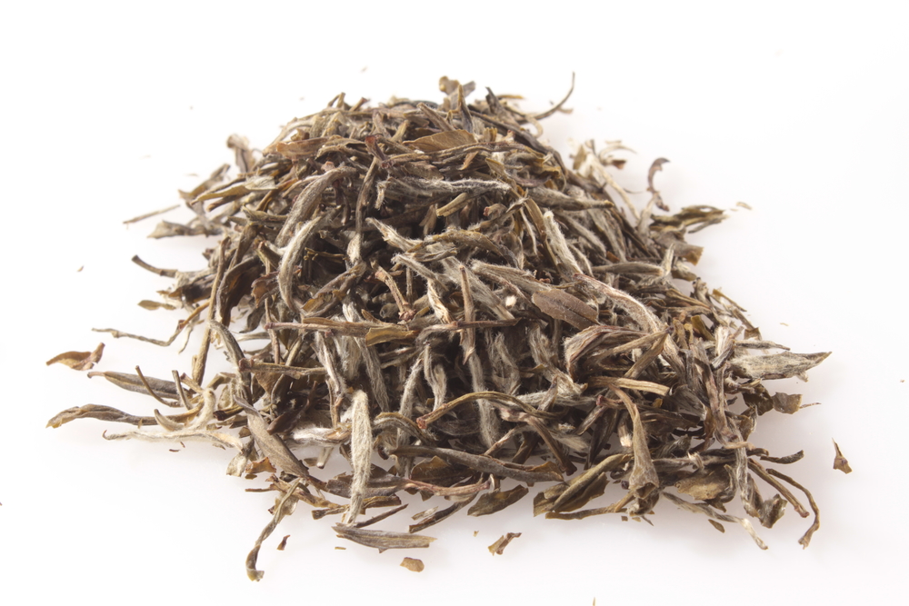 "Made from the best  tea leaves of the ""Big White"" bush and mixed with the ""Water Sprite"" tea plant"