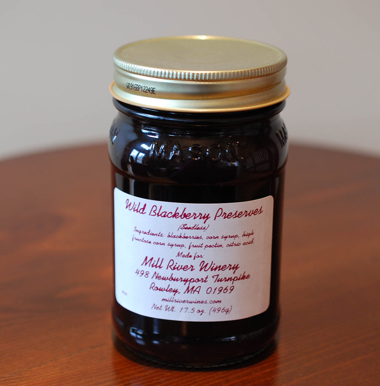 Wild Blackberry Preserves