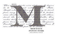 Moffett Pinot Noir - Willamette Valley 2015 MAIN