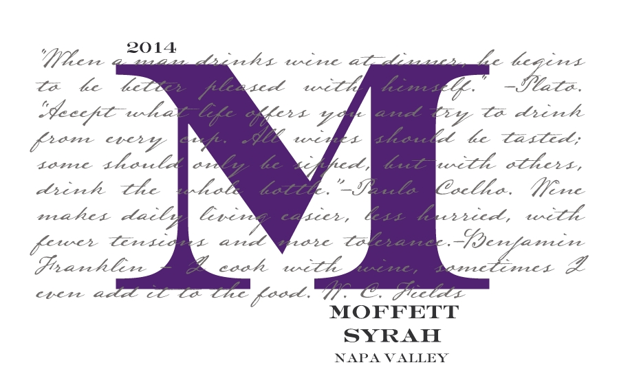 Moffett Vineyards Syrah - 2014 MAIN